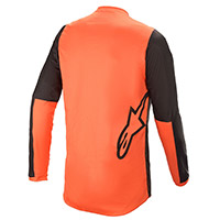 Alpinestars Fluid Tripple 2021 Jersey Black Orange