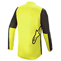 Alpinestars Fluid Tripple 2021 Jersey Black Yellow