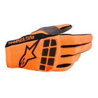 Gants Alpinestars Racefend 2020 Orange Noir