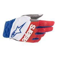 Alpinestars Racefend Glove 2019 White Red Blue