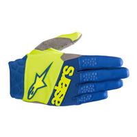 Alpinestars Racefend Glove 2019 Giallo Fluo Blu