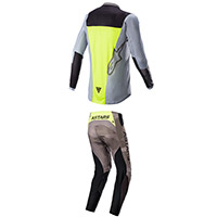 Alpinestars Youth Racer Ams 21 Complete Yellow