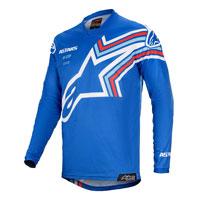 Maglia Alpinestars Racer Braap 2020 Blu