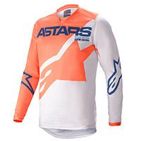 Maglia Alpinestars Racer Braap 2021 Arancio Grigio