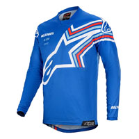 Alpinestars Racer Braap Jersey 2019 Blue White Red