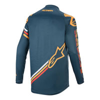 Alpinestars Racer Braap Jersey 2019 Cool Gray Dark Navy Teal