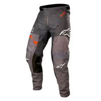 Alpinestars Racer Flagship Pants 2019 Mid Gray Anthracite Orange Fluo