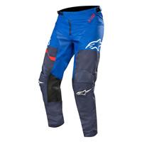 Alpinestars Racer Flagship Pants 2019 Dark Navy Blue Red