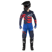 Alpinestars Racer Flagship Jersey 2019 Dark Navy Blue Red