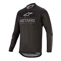 Maglia Alpinestars Racer Graphite 2020 Nero
