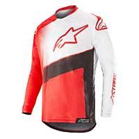 Alpinestars Racer Supermatic Jersey 2019 Red Black White