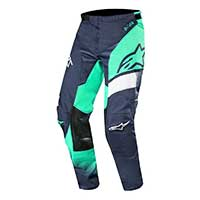 Alpinestars Racer Supermatic Pants 2019 Verde Blu