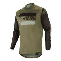 Alpinestars Racer Tactical Jersey 2019 Black Military Green