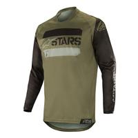 Alpinestars Racer Tactical Jersey 2019 Nero Verde Militare