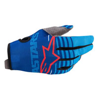 Alpinestars Radar 2020 Gloves Blue Aqua
