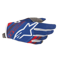Alpinestars Radar Glove 2019 Blue Red White