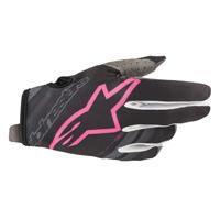 Alpinestars Radar Glove 2019 Dark Navy Pink Fluo