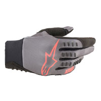 Alpinestars Smx-e Gloves Gray Red
