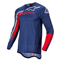 Maglia Alpinestars Supertech Blaze 2022 Blu Rosso