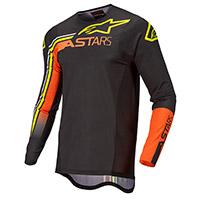 Maglia Alpinestars Supertech Blaze 2022 Nero