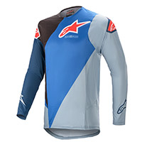 Alpinestars Supertech Blaze 2021 Jersey Blue Black