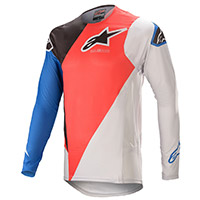 Alpinestars Supertech Blaze 2021 Jersey Red Blue