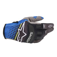 Alpinestars Techstar 2020 Gloves Black Blue