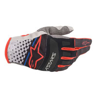 Alpinestars Techstar 2020 Gloves Black Red