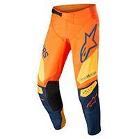 Pantaloni Alpinestars Techstar Factory 2022 Arancio