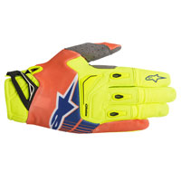 Alpinestars Techstar Glove 2018 Giallo Fluo