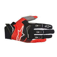 Alpinestars Techstar Glove 2018 Rosso