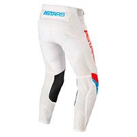 Pantaloni Alpinestars Techstar Quadro 2022 Bianco