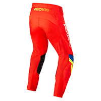 Pantaloni Alpinestars Techstar Quadro 2022 Rosso