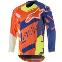 Alpinestars Techstar Screamer Jersey 2018 Arancio