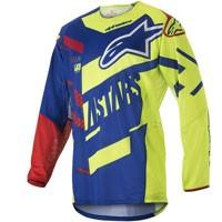Alpinestars Techstar Screamer Jersey 2018 Blu