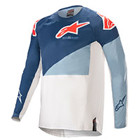 Alpinestars Techstar Factory 2021 Jersey Blue