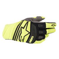 Alpinestars Techstar Glove 2019 Yellow Fluo Black