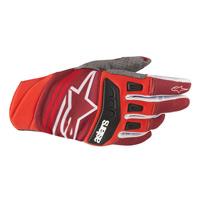Alpinestars Techstar Glove 2019 Rosso