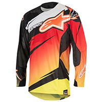 Alpinestars Techstar Venom Jersey Red Yellow