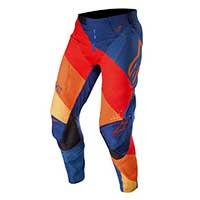Alpinestars Techstar Venom Pants 2019 Blu Rosso Tangerine