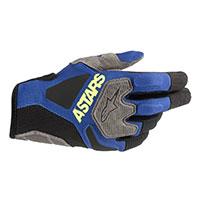 Alpinestars Venture R Gloves Blue Black