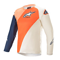 Alpinestars Youth Racer Blaze 2021 Jersey Orange Kid
