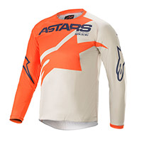 Alpinestars Youth Racer Braap 2021 Jersey Orange Kinder