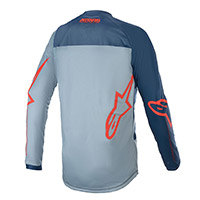 Alpinestars Youth Racer Braap 2021 Jersey Blue Kid