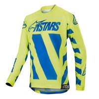 Alpinestars Youth Racer Braap Jersey 2019 Blue Yellow Fluo Kinder