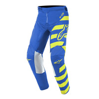 Alpinestars Youth Racer Braap Pants 2019 Blu Giallo Bimbo