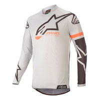 Alpinestars Youth Racer Compass 2020 Jersey Gray Kinder