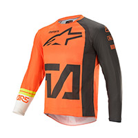 Alpinestars Youth Racer Compass 2021 Jersey Orange Kid