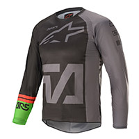 Alpinestars Youth Racer Compass 2021 Jersey Black Kinder