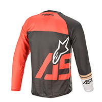 Alpinestars Youth Racer Compass 2021 Jersey Red Kinder